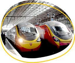 London bound trains at Manchester Piccadilly (c) Matt Davis